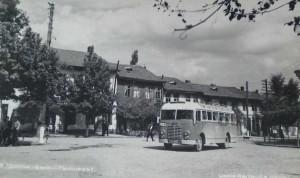 Долна баня площадът 1950