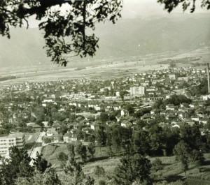 Общ изглед на град Костенец