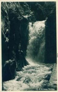Водопада на вилите 1950г.