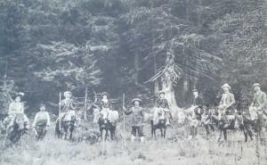 Някъде в Костенският балкан около 1910 -1920