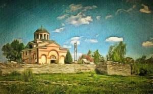 Църква Св. Йоан Предтеча Нова махала построена през 1855г.