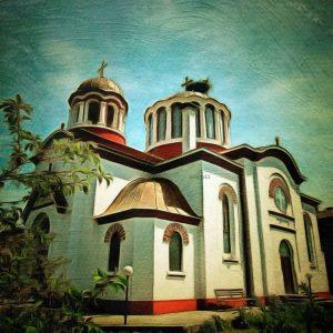 """църква """"Св.Великомъченик Георги"""" в град Костенец осветена през 1932г."""