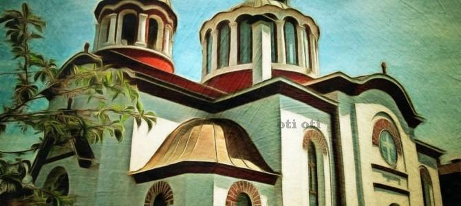 Няколко арт-принт картини на църкви в Костенската долина
