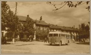Долна баня площадът 1950 г.