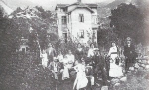 Вилата на Влайков в Костенец