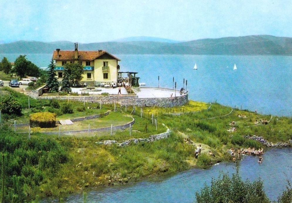 Хотел ресторант Щъркелово гнездо 1960 г.