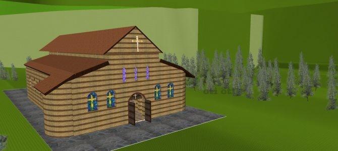 3D VR анимация на Базиликата от V век в село Костенец