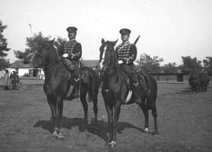 Гвардейски кавалеристи